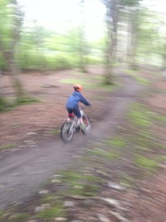 Mountain Biking Castel Grounds Stornoway